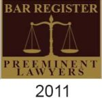 bar register preeminent Lwyers 2011
