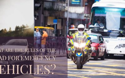 What Are the Rules Of the Road For Emergency Vehicles?