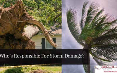 Who's Legally Responsible For Property Damage After A Storm?